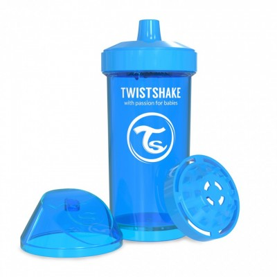 Twistshake Κύπελλο Μίξερ Φρούτων Kid Cup 360ml 12+μηνών Μπλε