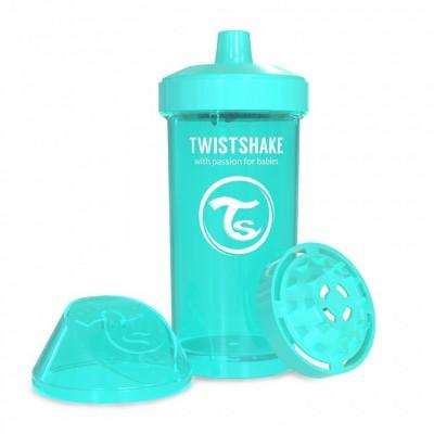 Twistshake Κύπελλο Μίξερ Φρούτων Kid Cup 360ml 12+μηνών Τιρκουάζ