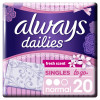 Always Σερβιετάκια Dailies Singles To Go Normal Fresh 20τμχ