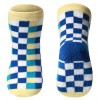 BabyOno Αντιολισθητικά Καλτσάκια με Μπλε Τετράγωνα 12-24 μηνών