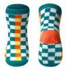 BabyOno Αντιολισθητικά Καλτσάκια με Πράσινα Τετράγωνα 12-24 μηνών