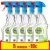 Dettol Απολυμαντικό Spray Καθαρισμού Υγιεινή & Ασφάλεια Lime & Mint 5x500ml