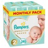 Πάνες Pampers Premium Care Νο 2 Monthly Box 240τμχ (4-8kg)
