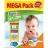 Πάνες Babylino Sensitive Mega Pack No4+ (9-20Kg) 76τμχ