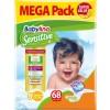 Πάνες Babylino Sensitive Mega Pack No5+ (13-27Kg) 68τμχ