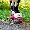 Stonz Μαλακά Μποτάκια Booties Owl Fuchsia Small