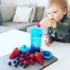 Twistshake Κύπελλο Μίξερ Φρούτων Kid Cup 360ml 12+μηνών Πορτοκαλί