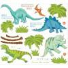 WallPops Αυτοκόλλητα Τοίχου Δεινόσαυροι