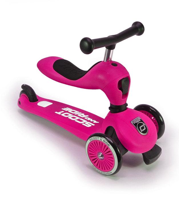 Scoot & Ride Πατίνι 2 σε 1 Highway Kick 1 Pink
