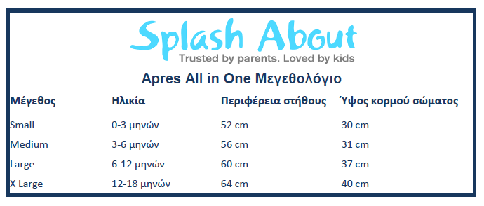Splash About Apres All in One