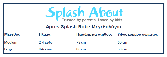 Splash About Apres Splash Robe