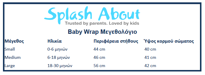 Splash About Baby Wrap