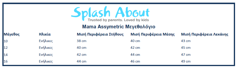 Splash About Mama assymetric