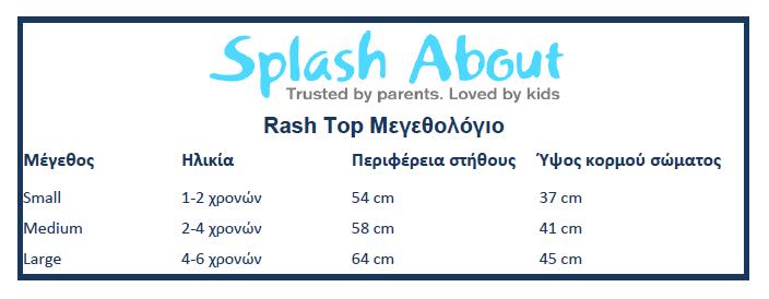 Splash About Rash Top