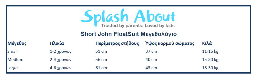 Splash About Short John Floatsuit