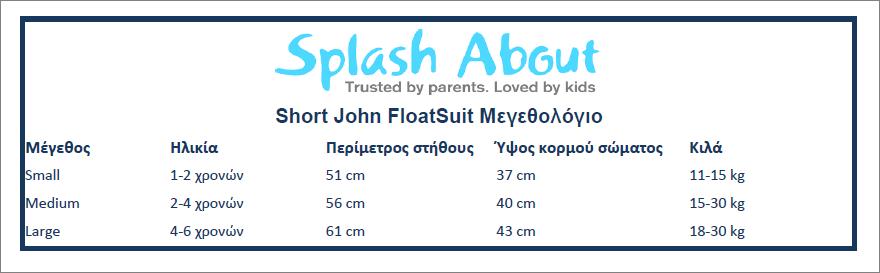 Splash About Short John Floatsuit